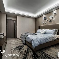 精选面积82平现代二居卧室装修实景图片欣赏