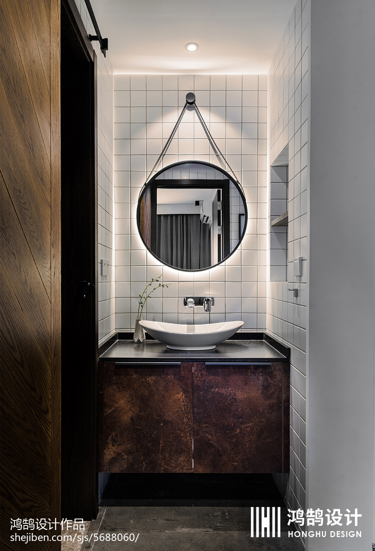 精美现代三居卫生间实景图片大全