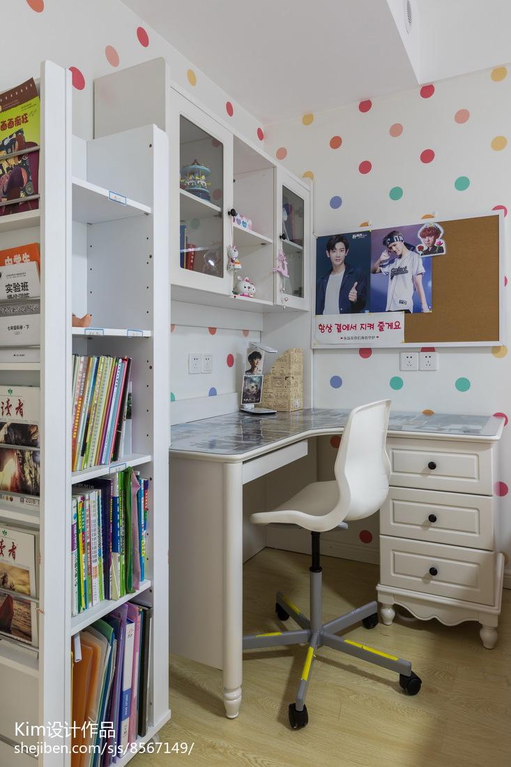 簡潔85平現代三居兒童房設計案例