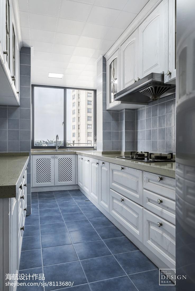 雅致美式厨房设计图片
