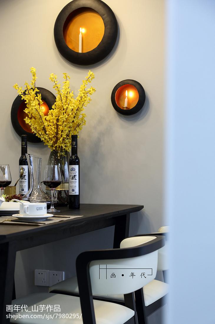 精美新古典四居餐厅设计效果图