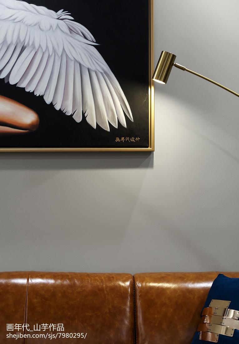 热门面积138平新古典四居客厅装修图