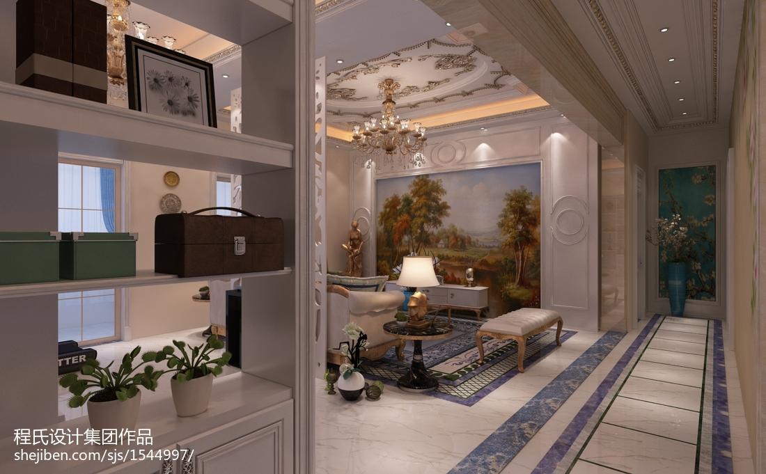 精选大小130平别墅客厅欧式效果图片大全