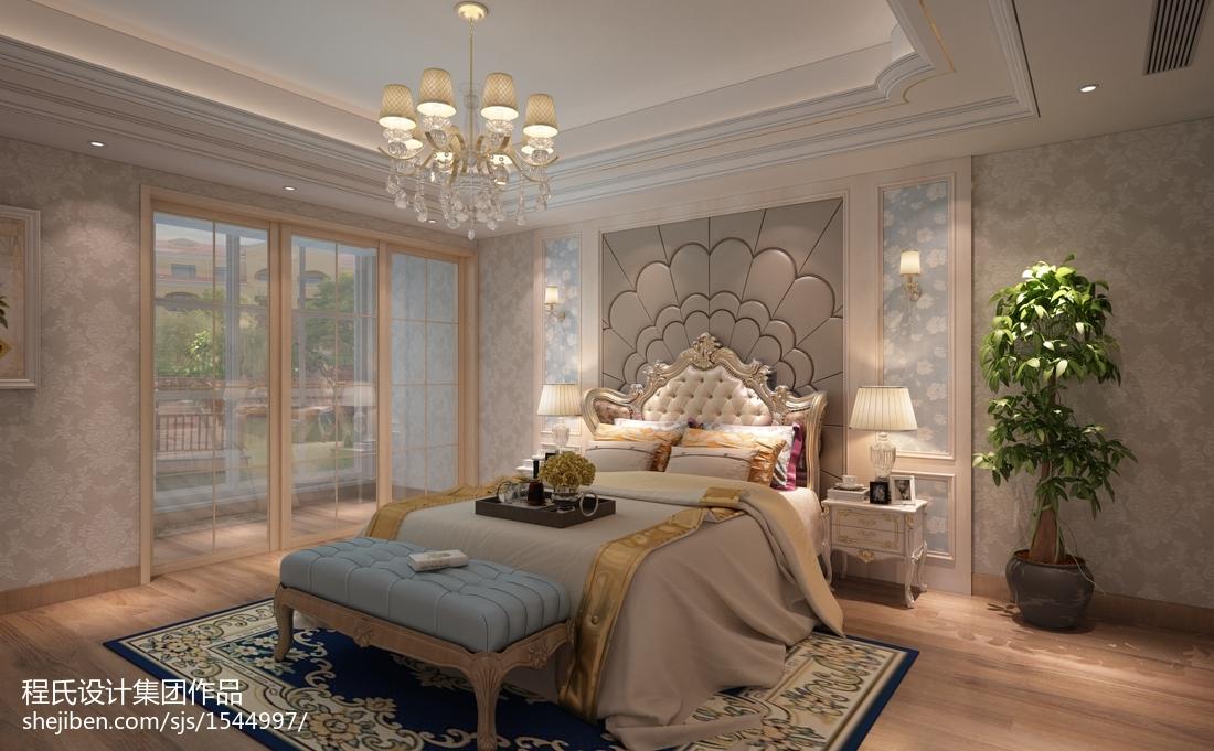 面积133平别墅卧室欧式装修图片大全