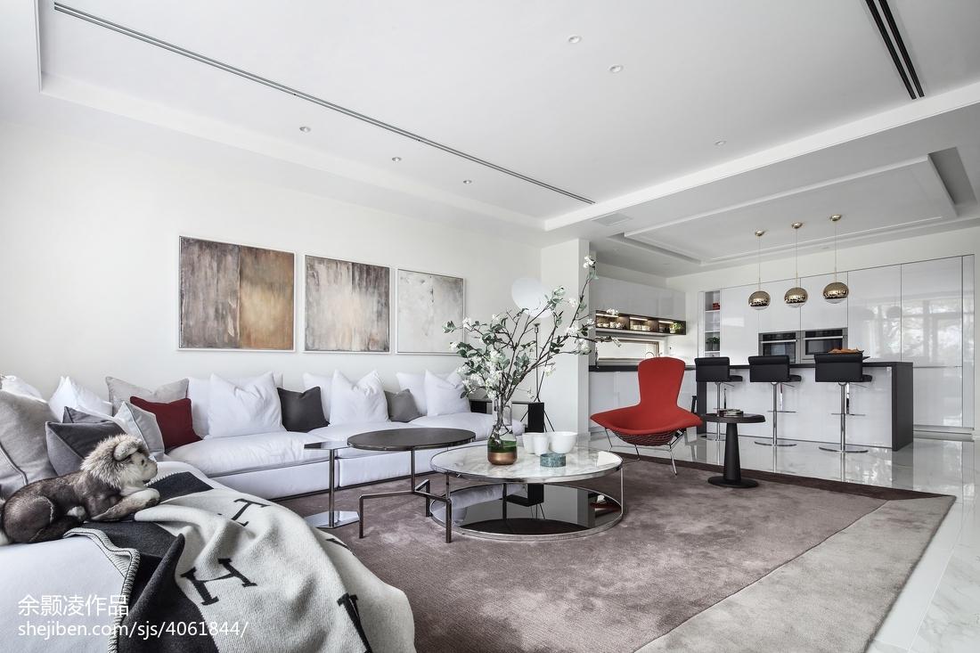精美141平米现代别墅客厅欣赏图