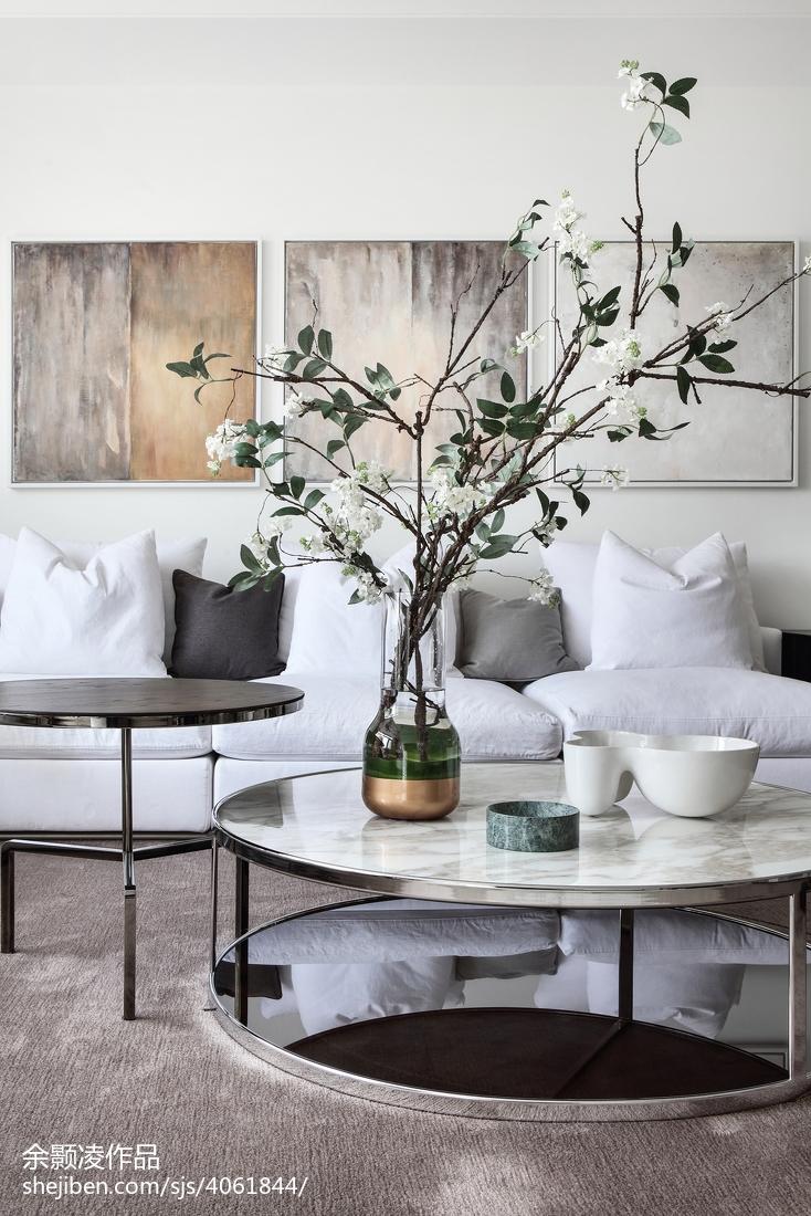 精选136平米现代别墅客厅装修欣赏图片