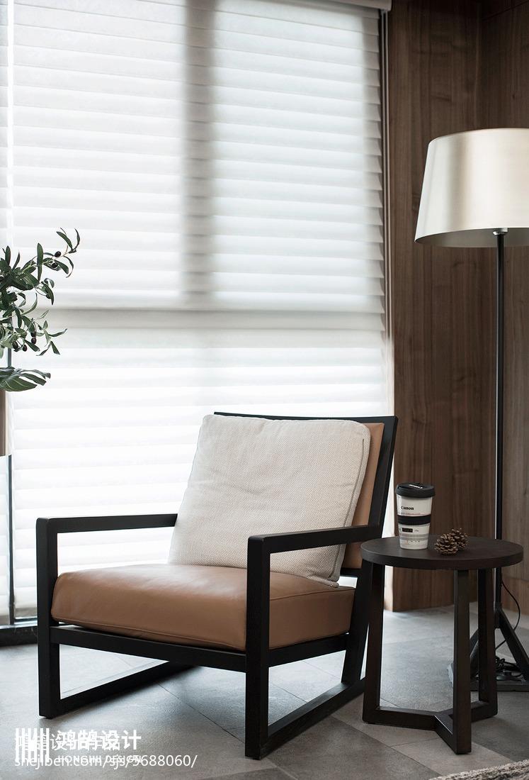 精美现代三居休闲区装修效果图片
