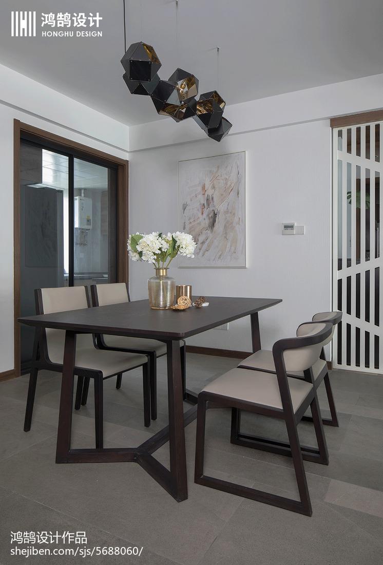 精选96平米三居餐厅现代装修图片大全