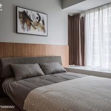 精选102平米三居卧室现代装修效果图片欣赏