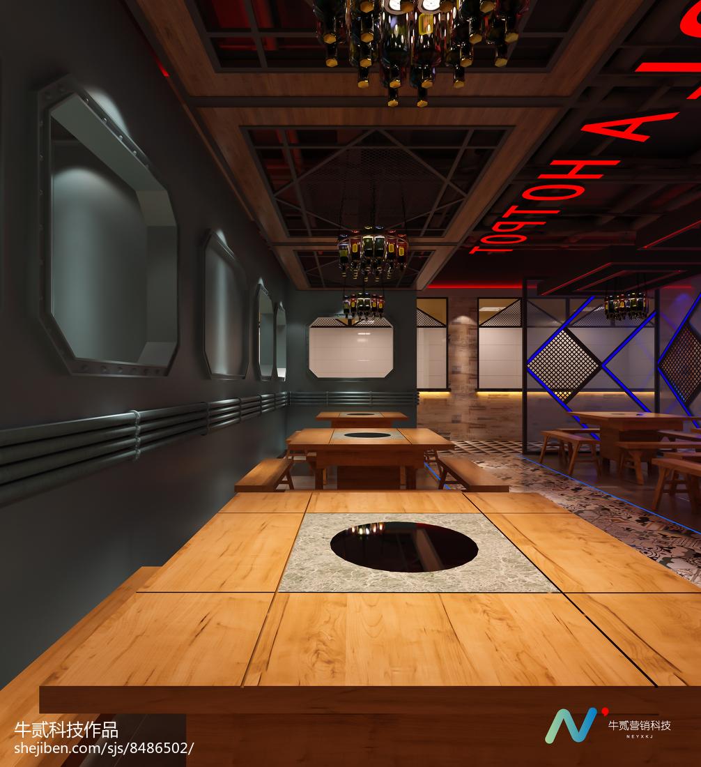 简约现代装修风格餐厅