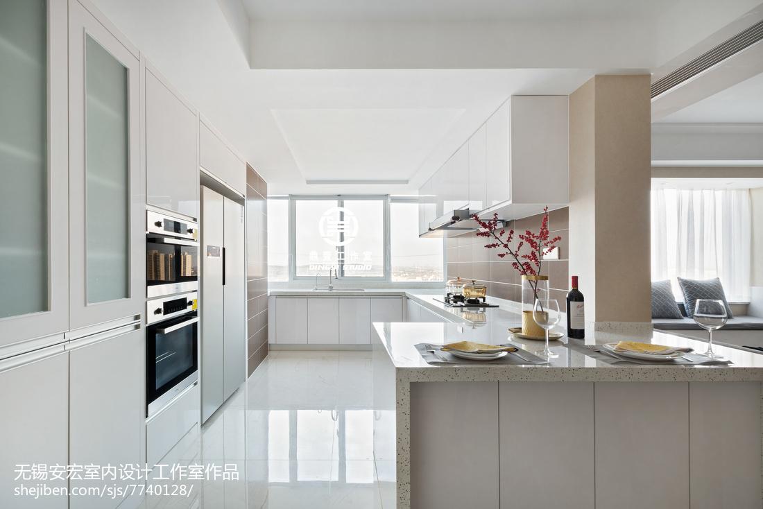 201896平米三居厨房现代装修设计效果图片欣赏