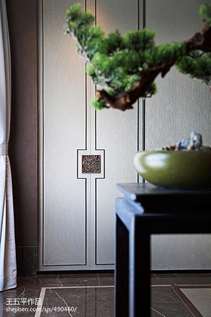 熱門中式別墅過道效果圖片欣賞