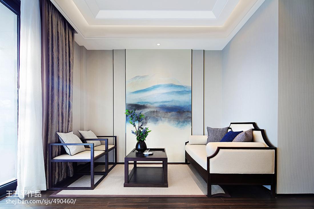 中式别墅休闲区效果图片欣赏