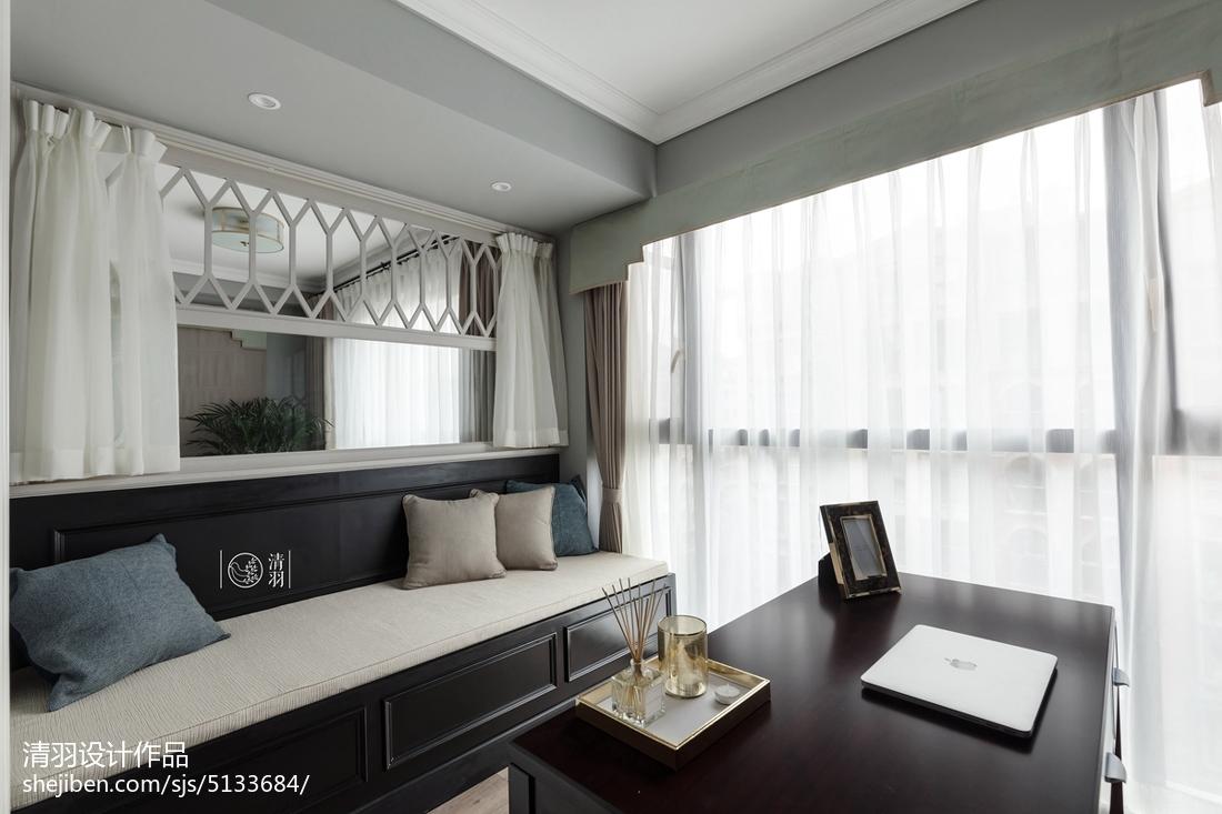 精美131平方四居客厅美式装饰图片大全