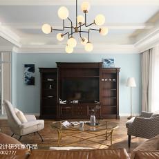 精美面积138平别墅客厅美式装修图片