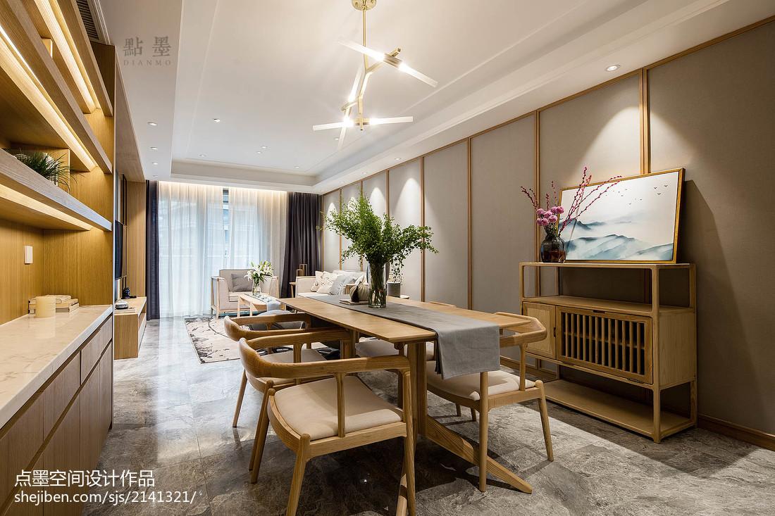 2018精选三居餐厅中式装修欣赏图片