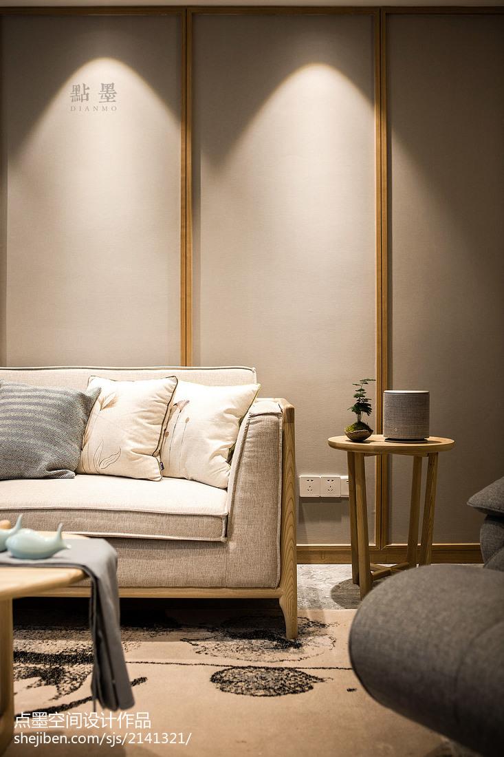 精美面积97平中式三居客厅装修设计效果图片欣赏