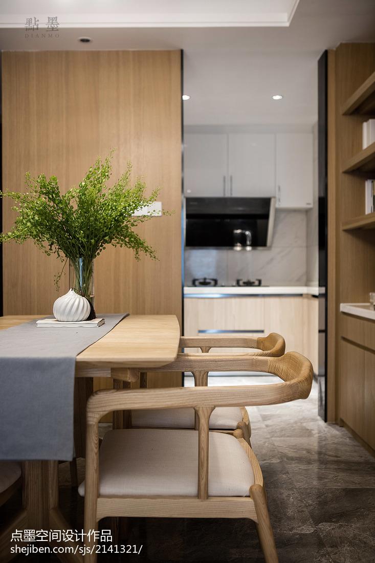 精美116平中式三居餐厅设计案例