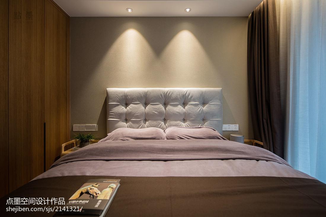 精选96平米三居卧室中式效果图片