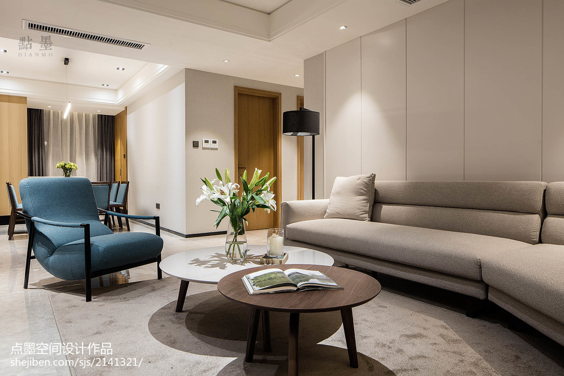 201896平米三居客厅现代装修欣赏图片大全