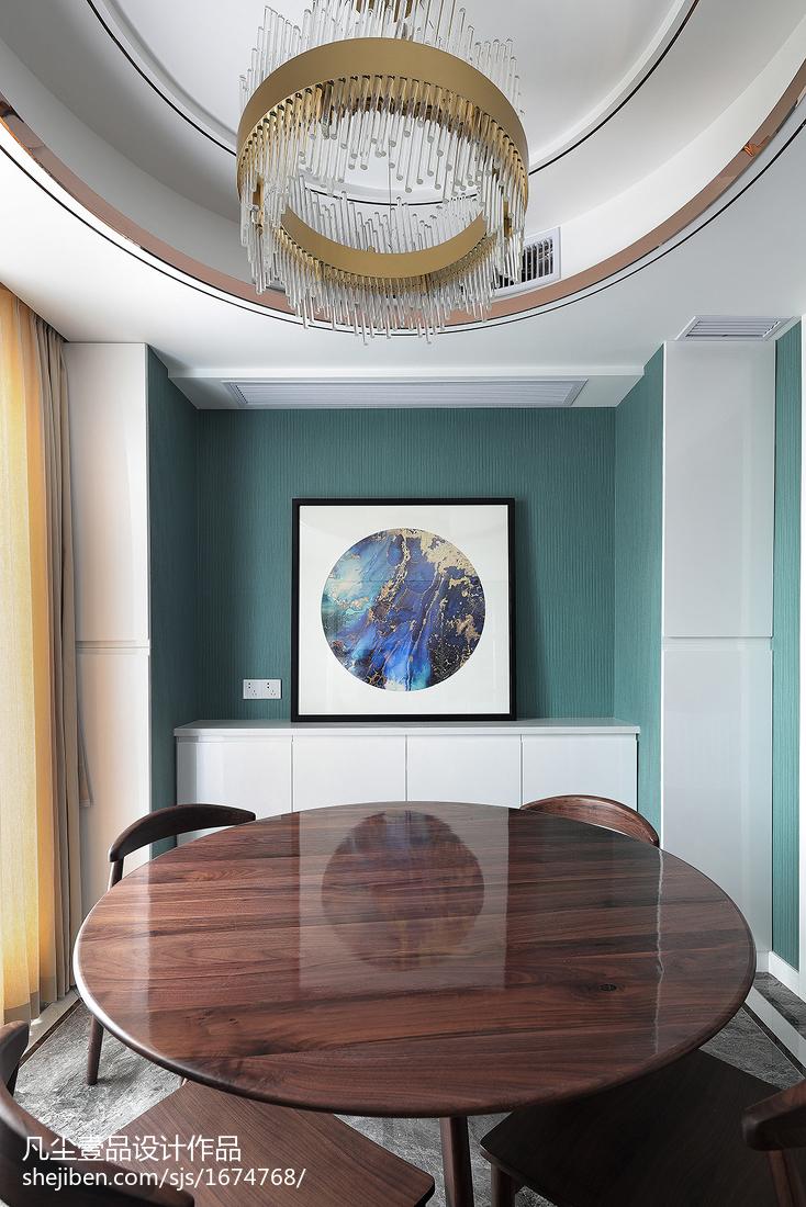 精致123平混搭四居餐厅设计美图