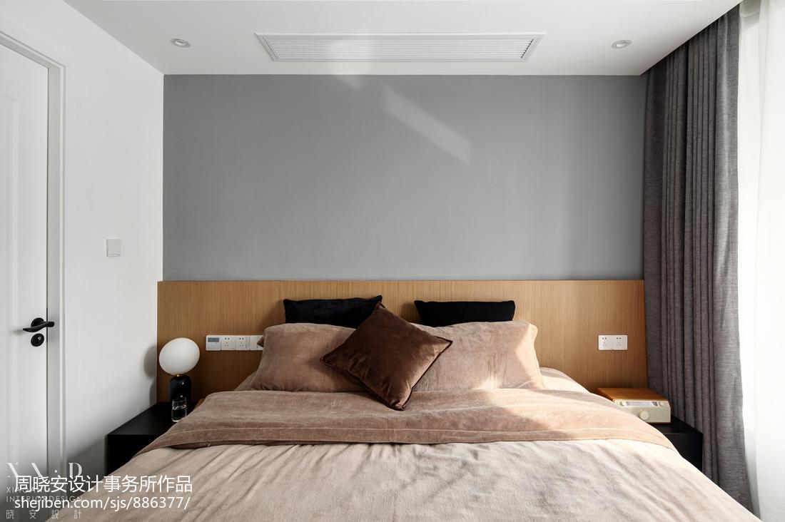 热门89平米二居卧室混搭效果图片大全