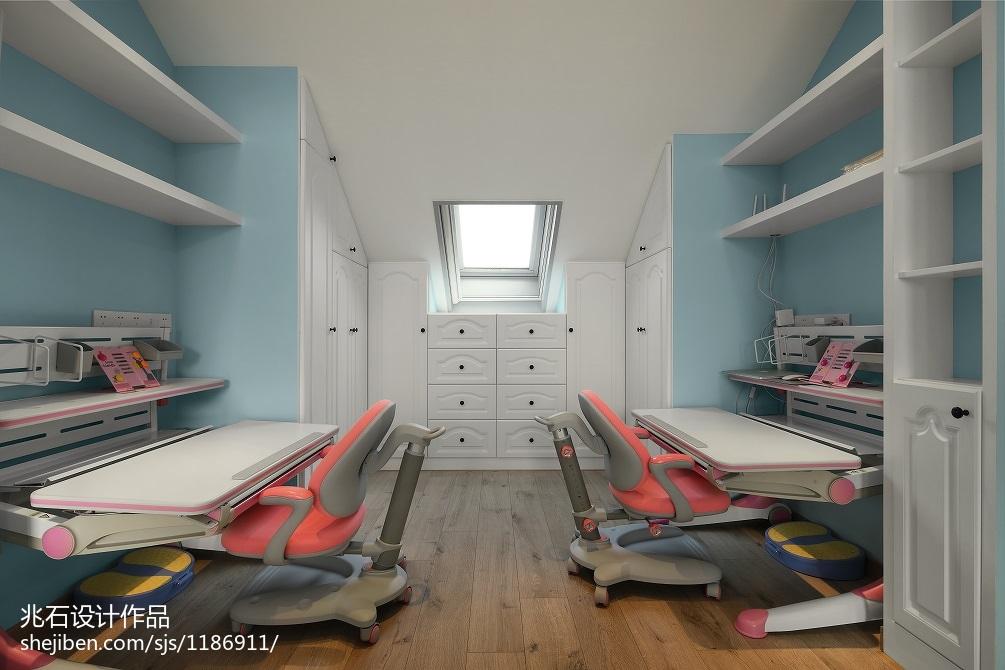 111平米四居儿童房现代实景图