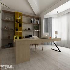 宜家风格室内书房图片