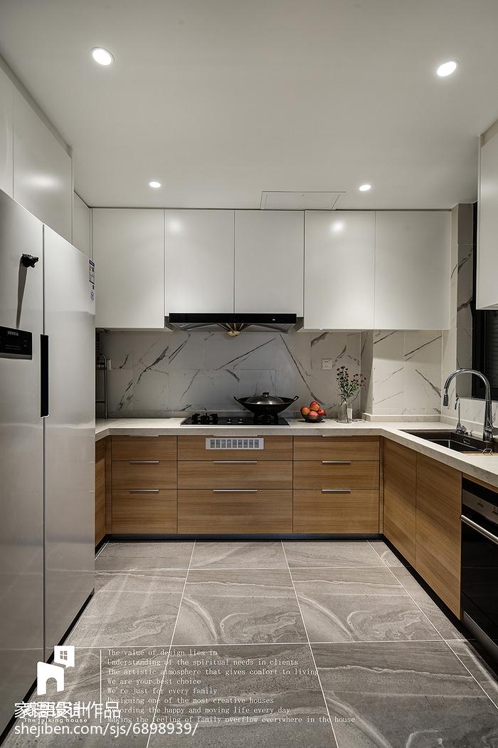 2018精选110平米北欧复式厨房装修图