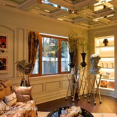精选143平米新古典别墅休闲区装修设计效果图片大全