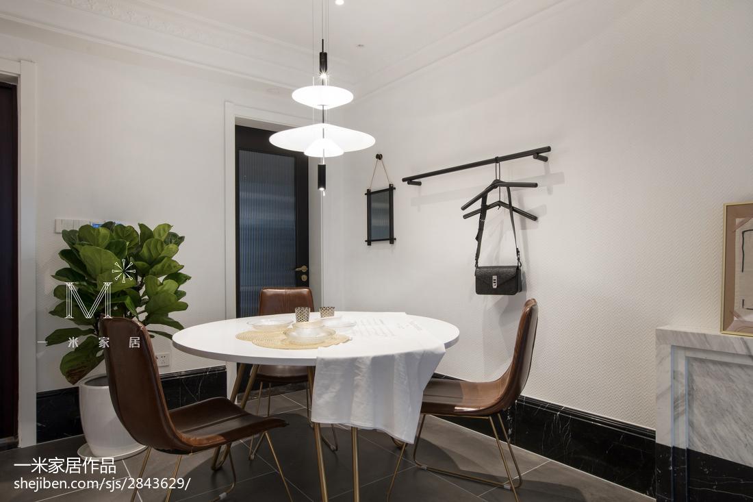 2018精选77平米二居餐厅北欧装修设计效果图