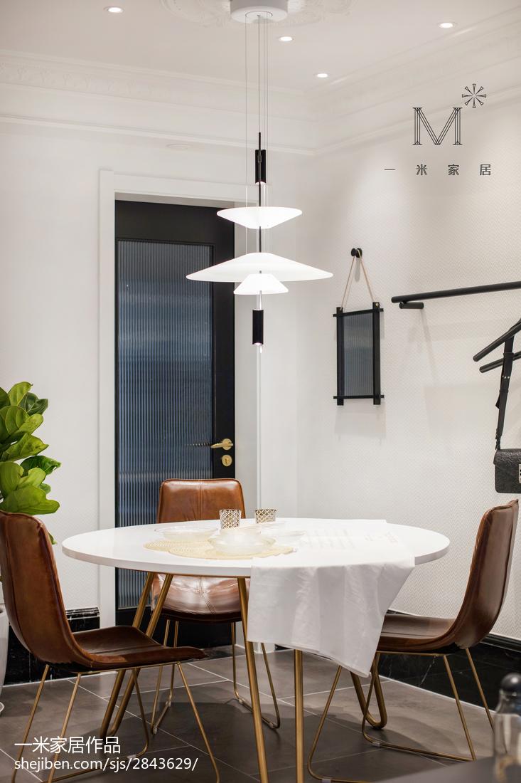 热门面积85平北欧二居餐厅装修设计效果图
