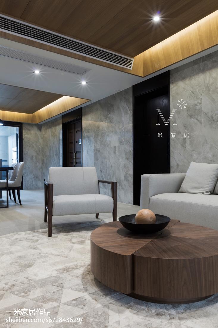 典雅148平现代四居装修设计图