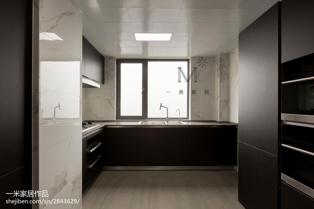 精选现代四居厨房装修设计效果图片欣赏