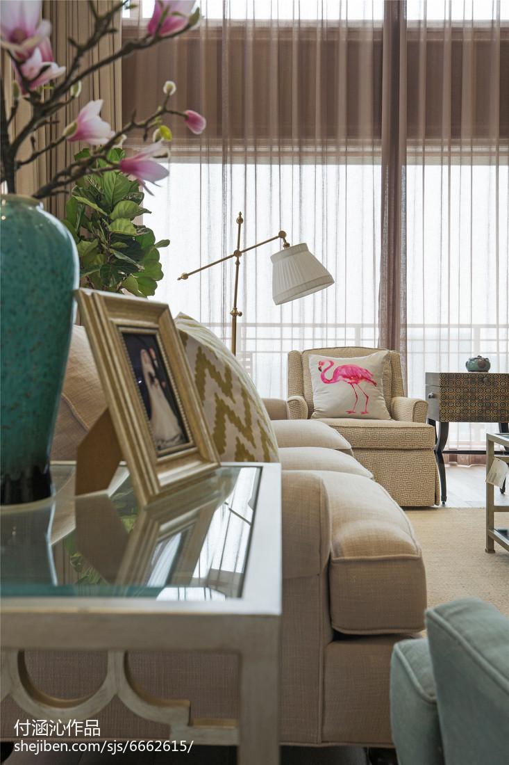 精选复式客厅美式装修图片