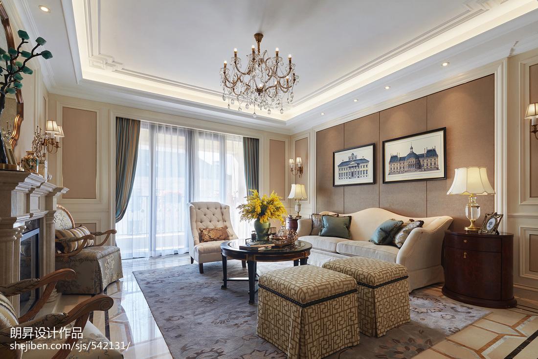 精选欧式客厅设计效果图