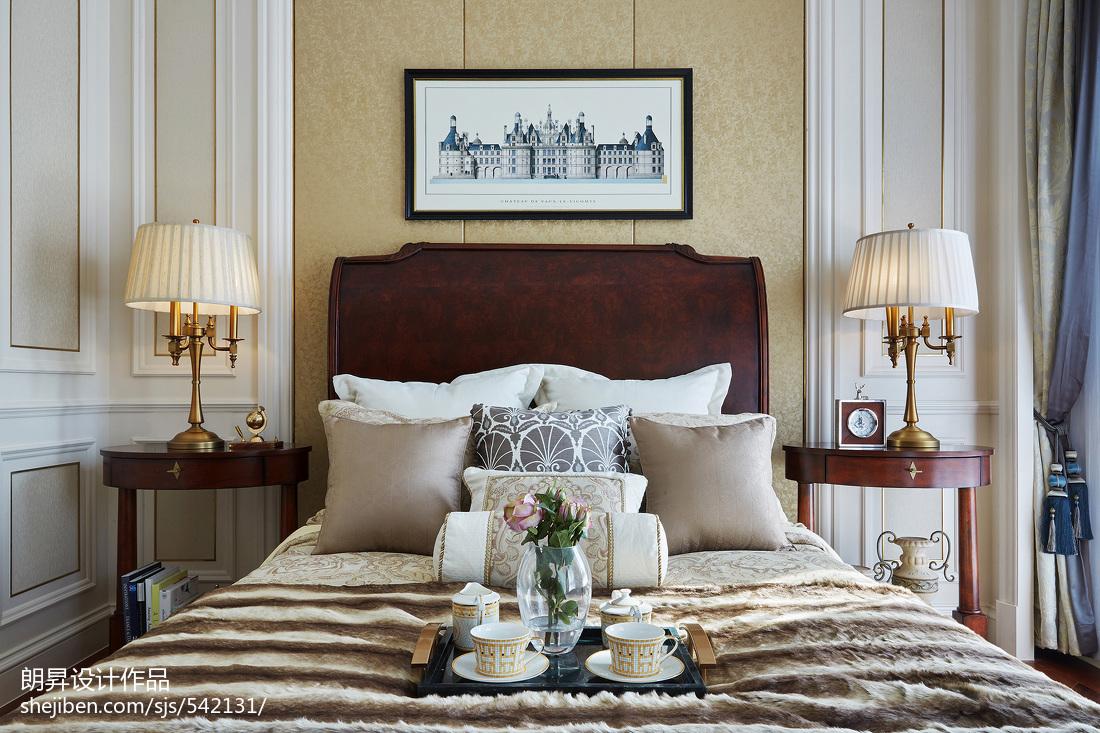 温馨279平欧式样板间卧室装修图