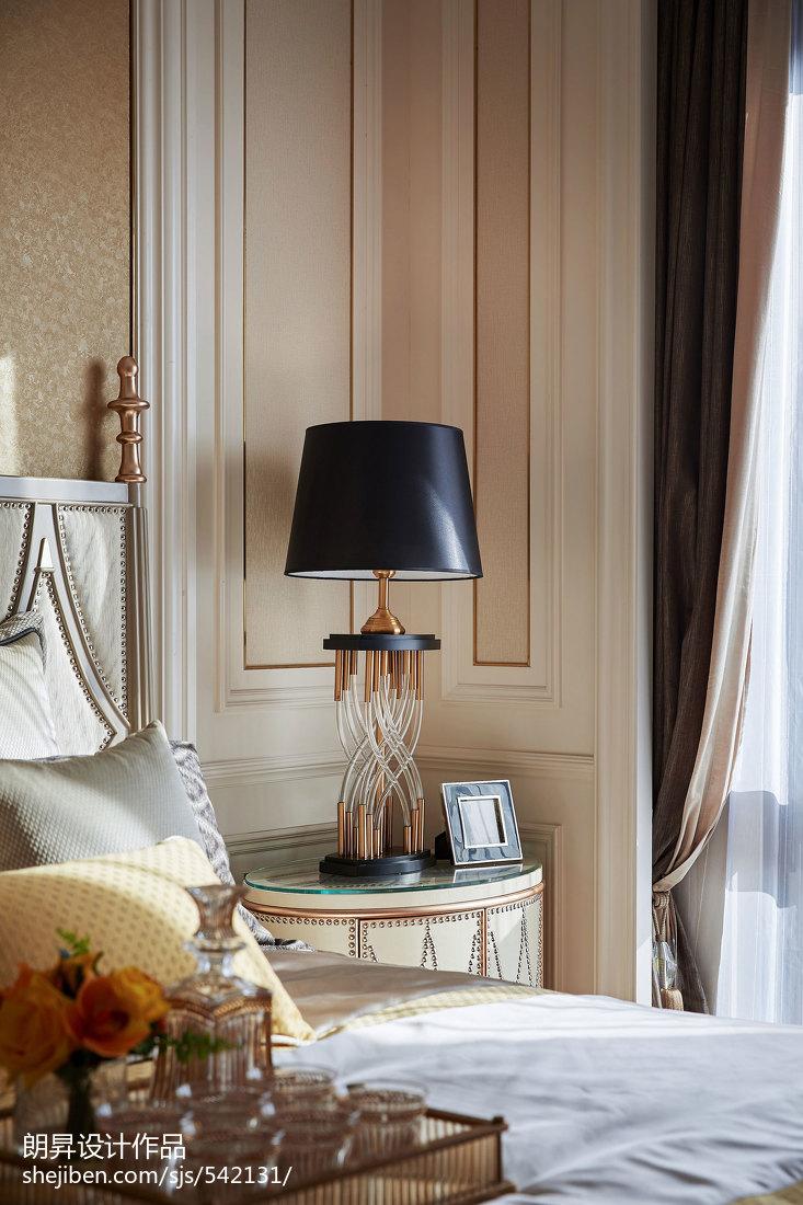 浪漫339平欧式样板间卧室装修美图