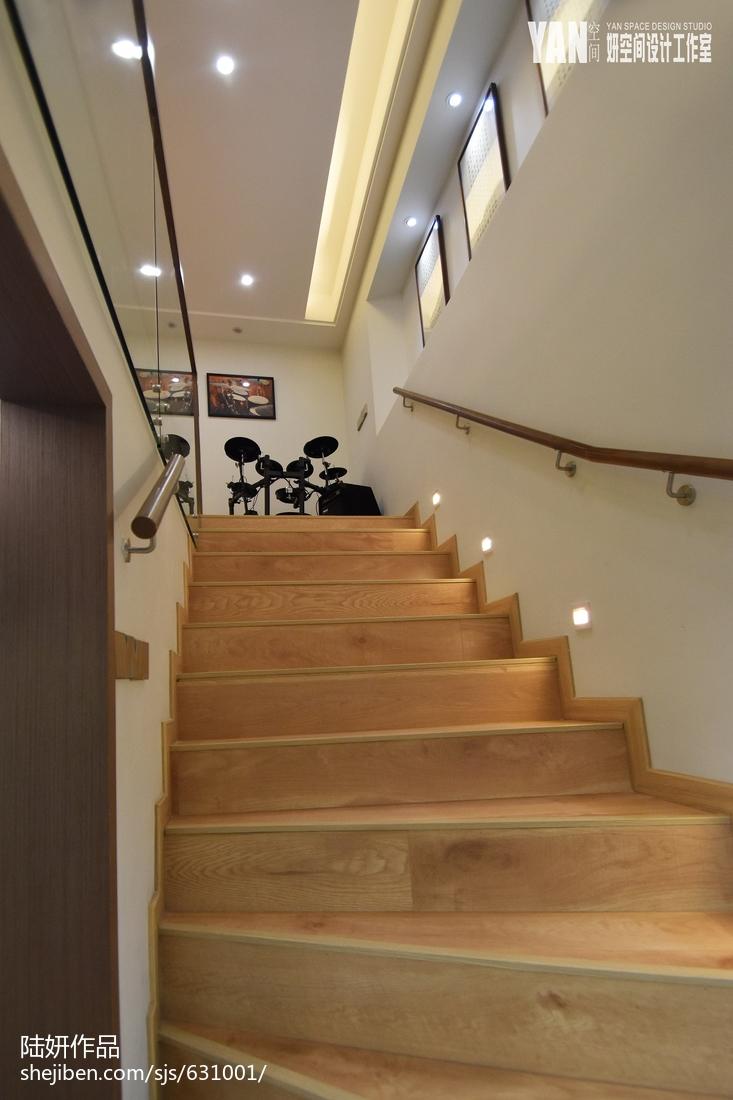 輕奢158M2復式樓樓梯設計圖