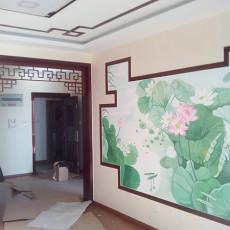 热门三居客厅中式装修设计效果图