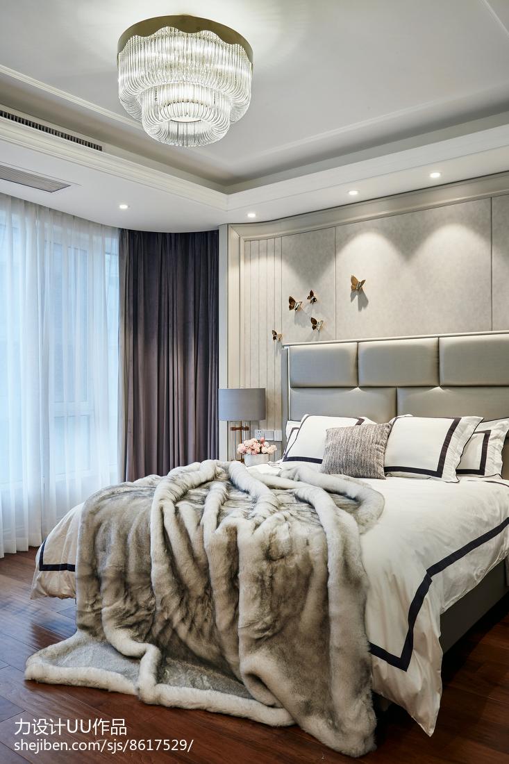 精美141平米四居卧室混搭装修效果图片欣赏