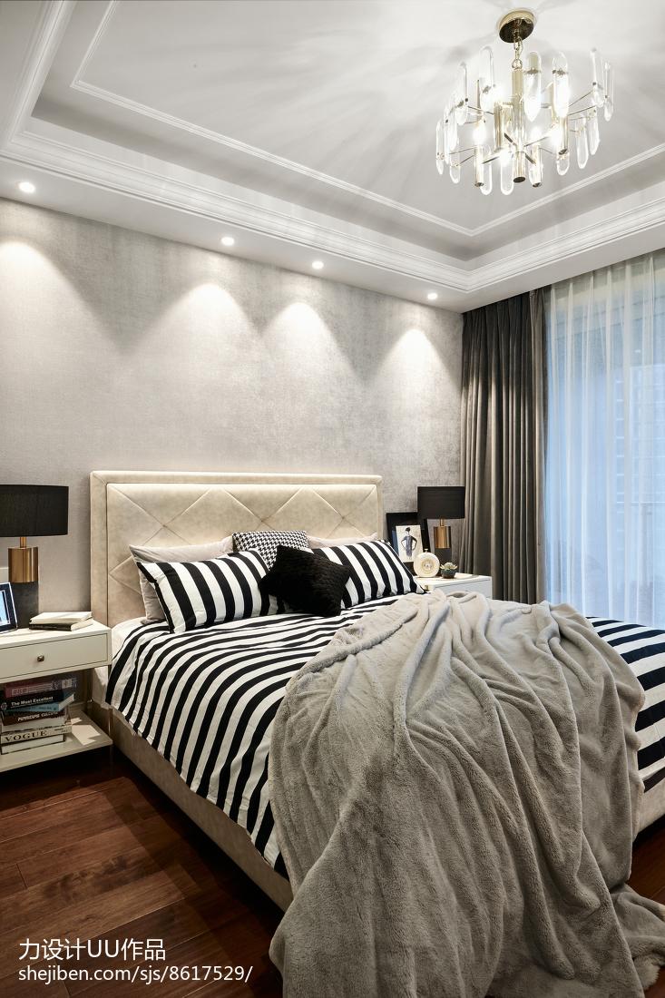 116平米四居卧室混搭装修欣赏图片