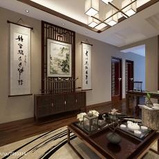 热门141平米中式别墅书房装修效果图