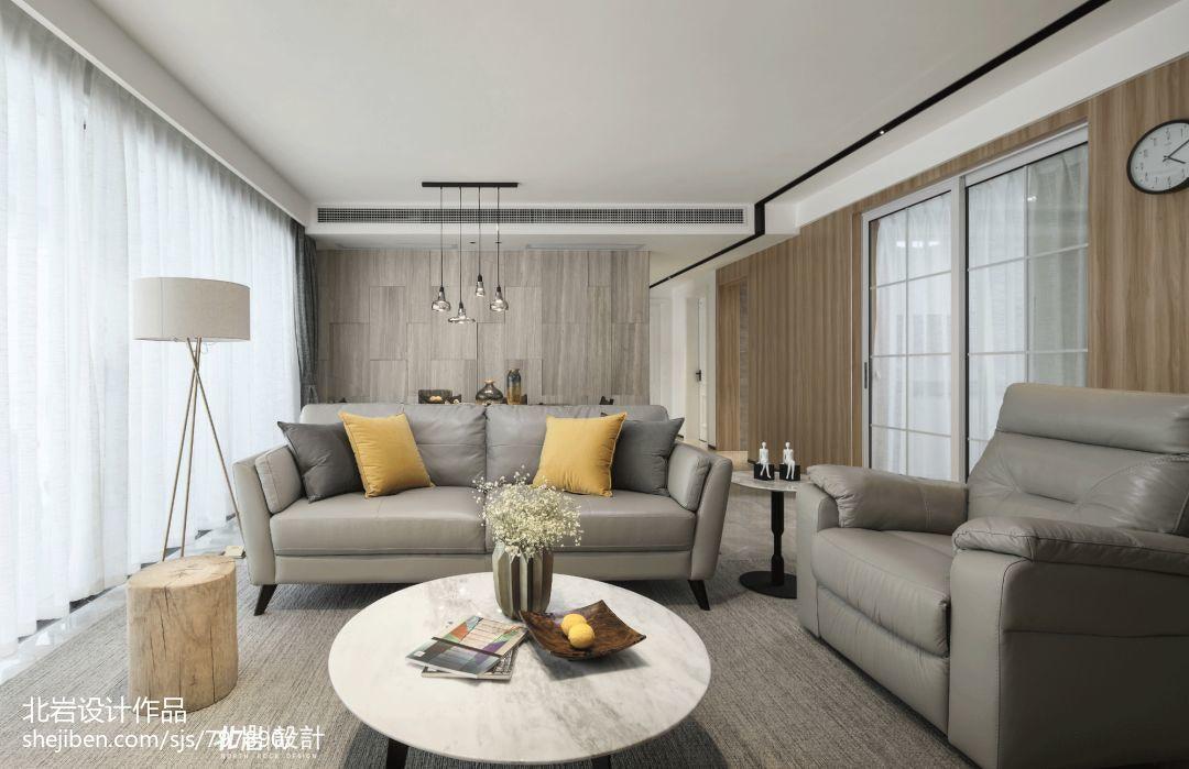 精美91平客厅三居现代装修效果图片大全