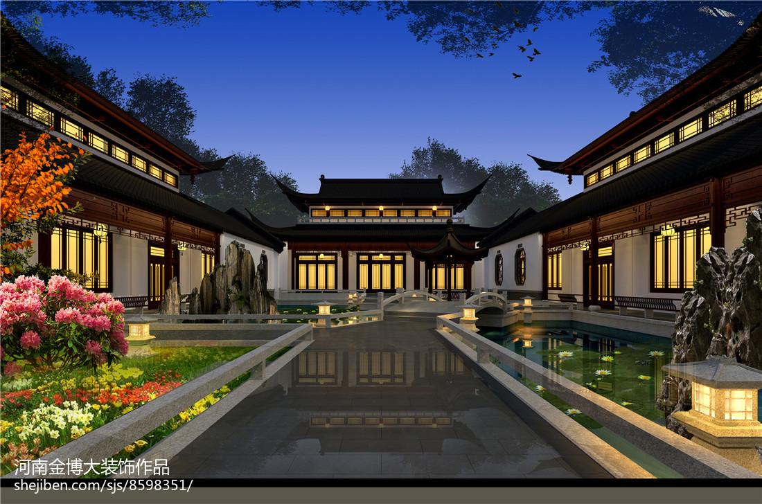 中式典雅别墅装修