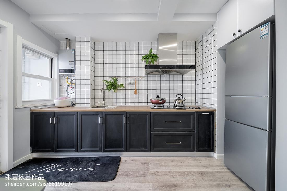 2018面积70平小户型厨房北欧欣赏图片大全