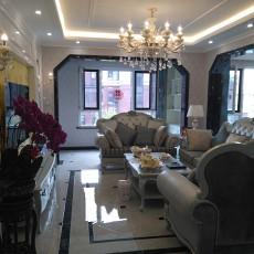 精选面积95平欧式三居客厅装修欣赏图片