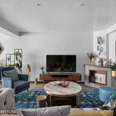 108平米3室客厅混搭实景图