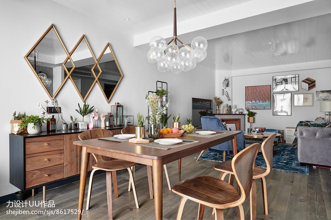 2018100平方三居餐厅混搭欣赏图片