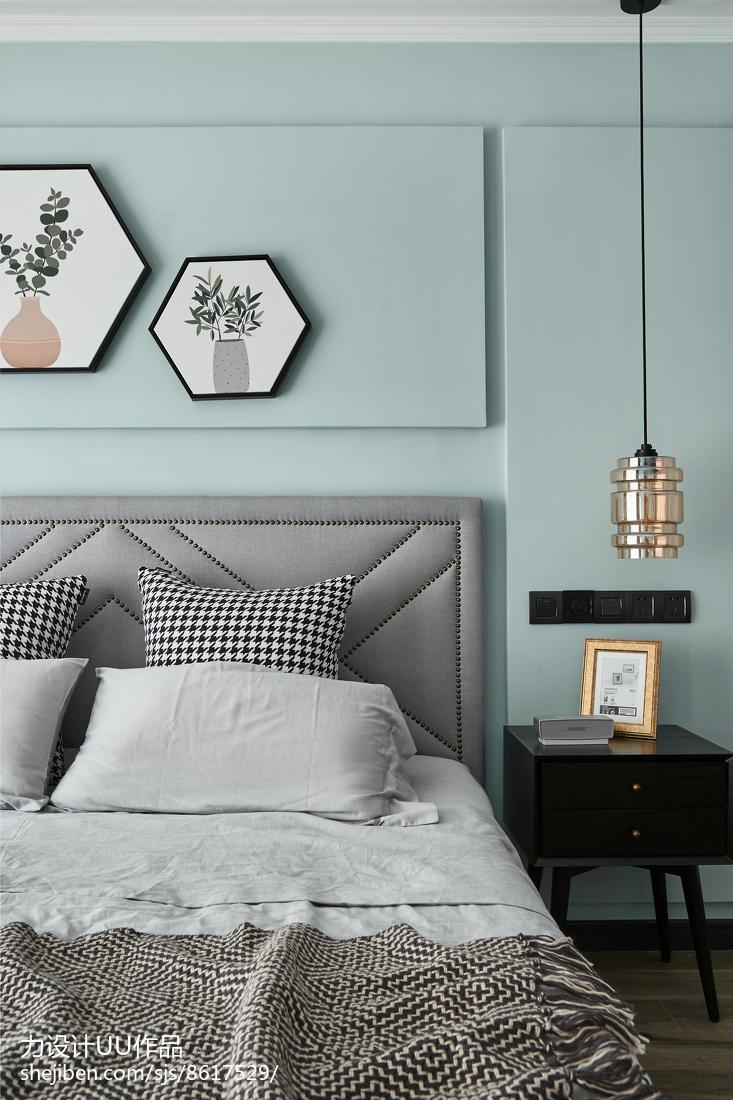 华丽93平混搭三居卧室装修美图